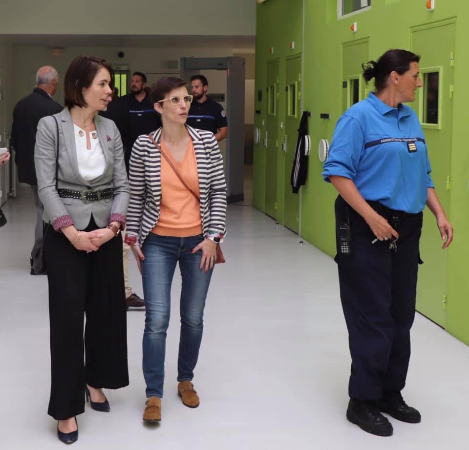 Visite du centre pénitentiaire de Bourg-en-Bresse